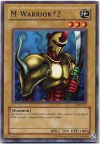 M-Warrior #2 - LOB-077 - Common - Unlimited Edition