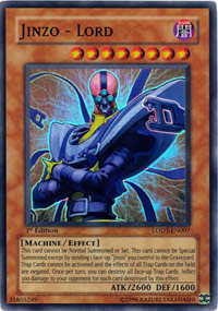 Jinzo - Lord - LODT-EN007 - Super Rare - Unlimited Edition