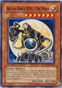 Arcana Force XVIII - The Moon - LODT-EN015 - Common - Unlimited Edition
