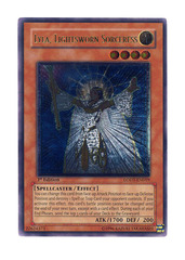 Lyla, Lightsworn Sorceress - Ultimate - LODT-EN019 - Ultimate Rare - Unlimited