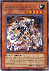 Alien Warrior - POTD-EN027 - Rare - Unlimited Edition