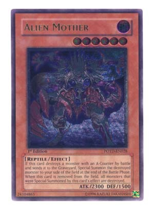 Alien Mother - POTD-EN028 - Ultimate Rare - Unlimited Edition
