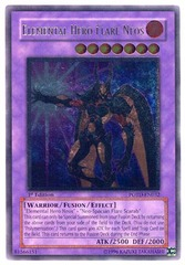 Elemental Hero Flare Neos - Ultimate - POTD-EN032 - Ultimate Rare - Unlimited