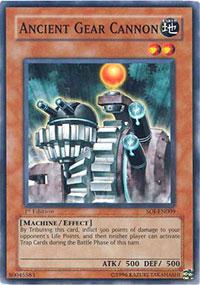 Ancient Gear Cannon - SOI-EN009 - Common - Unlimited Edition