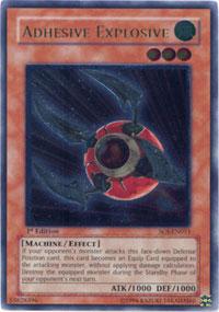 Adhesive Explosive - SOI-EN011 - Rare - Unlimited Edition