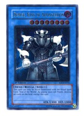 Demise, King of Armageddon - Ultimate - SOI-EN035 - Ultimate Rare - Unlimited