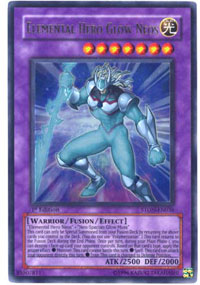 Elemental Hero Glow Neos - STON-EN036 - Ultra Rare - Unlimited Edition