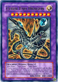 Cyber End Dragon - STON-ENSE1 - Super Rare - Limited Edition