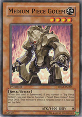 Medium Piece Golem - TDGS-EN007 - Common - Unlimited Edition
