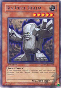 Big Piece Golem - TDGS-EN008 - Rare - Unlimited Edition