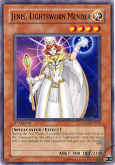 Jenis, Lightsworn Mender - TDGS-EN025 - Common - Unlimited Edition