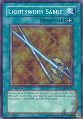 Lightsworn Sabre - TDGS-EN059 - Super Rare - Unlimited Edition