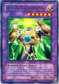 Elemental Hero Thunder Giant - TLM-EN036 - Ultra Rare - Unlimited Edition
