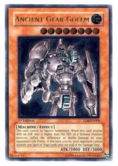 Ancient Gear Golem - Ultimate - TLM-EN006 - Ultimate Rare - Unlimited