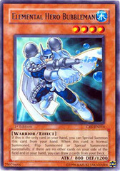 Elemental Hero Bubbleman - CRV-EN014 - Rare - Unlimited Edition