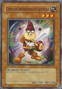 Comrade Swordsman of Landstar - CSOC-EN033 - Common - Unlimited Edition