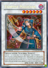 Tempest Magician - CSOC-EN088 - Secret Rare - Unlimited Edition