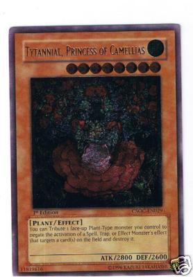 Tytannial, Princess of Camellias - CSOC-EN029 - Ultimate Rare - Unlimited Edition