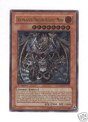 Doomkaiser Dragon/Assault Mode - CRMS-EN019 - Ultimate Rare - Unlimited Edition