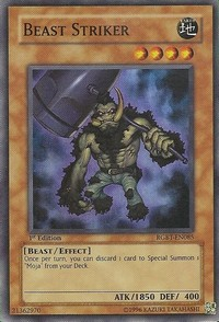 Beast Striker - RGBT-EN085 - Super Rare - Unlimited Edition