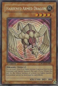 Hardened Armed Dragon - RGBT-EN083 - Secret Rare - Unlimited Edition
