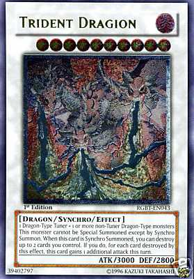 Trident Dragion - RGBT-EN043 - Ultimate Rare - Unlimited Edition