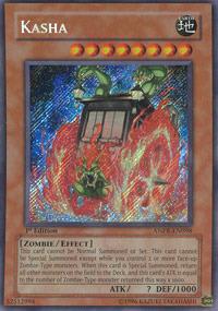 Kasha - ANPR-EN098 - Secret Rare - Unlimited Edition