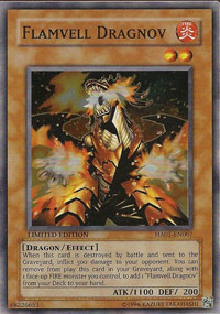 Flamvell Dragnov - HA01-EN007 - Super Rare - Unlimited Edition