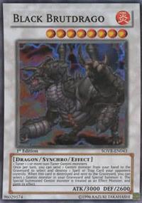 Black Brutdrago - SOVR-EN043 - Super Rare - Unlimited Edition