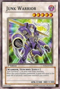 Junk Warrior - 5DS2-EN042 - Common - Unlimited Edition