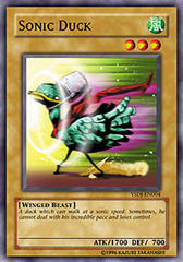 Sonic Duck - YSDJ-EN004 - Common - Unlimited Edition