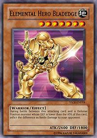 Elemental Hero Bladedge - YSDJ-EN018 - Common - Unlimited Edition