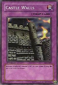 Castle Walls - SDJ-045 - Common - Unlimited Edition