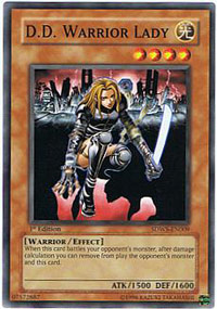 D.D. Warrior Lady - SDWS-EN009 - Common - Unlimited Edition