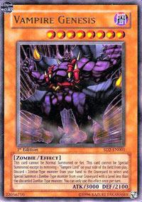 Vampire Genesis - SD2-EN001 - Ultra Rare - Unlimited Edition