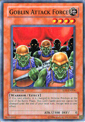 Goblin Attack Force - SD5-EN004 - Common - Unlimited Edition on Channel Fireball