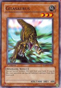 Gilasaurus - SD09-EN005 - Common - Unlimited Edition