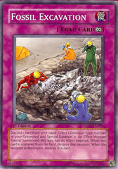 Fossil Excavation - SD09-EN036 - Common - Unlimited Edition on Channel Fireball