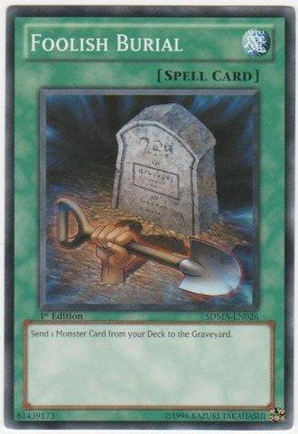 Foolish Burial - SDMA-EN026 - Common - Unlimited Edition