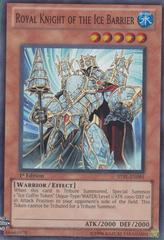 Royal Knight of the Ice Barrier - STBL-EN091 - Super Rare - Unlimited Edition
