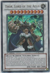 Thor, Lord of the Aesir - STOR-EN038 - Ultra Rare - Unlimited Edition