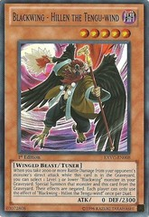 Blackwing - Hillen the Tengu-wind - EXVC-EN008 - Super Rare - Unlimited Edition