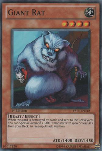 Giant Rat - YS11-EN012 - Common - Unlimited Edition