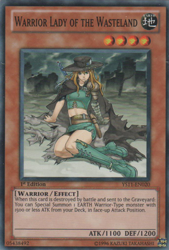Warrior Lady of the Wasteland - YS11-EN020 - Common - Unlimited Edition