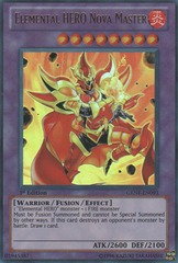 Elemental HERO Nova Master - GENF-EN093 - Ultra Rare - Unlimited Edition on Channel Fireball