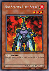 Neo-Spacian Flare Scarab - DP03-EN006 - Rare - Unlimited Edition on Channel Fireball