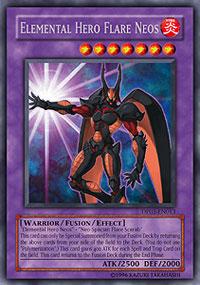 Elemental Hero Flare Neos - DP03-EN013 - Rare - Unlimited Edition