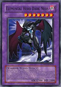 Elemental Hero Dark Neos - DP03-EN014 - Super Rare - Unlimited Edition