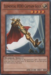 Elemental HERO Captain Gold - LCGX-EN026 - Common - 1st Edition