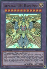 Elemental HERO Divine Neos - LCGX-EN077 - Ultra Rare - 1st Edition